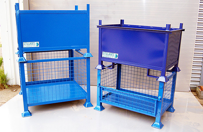 Bins and cages